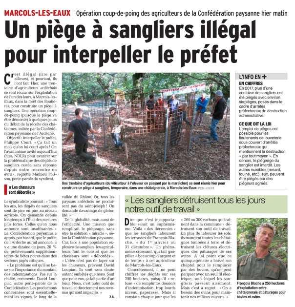 Article Piegeage sangliers - DL du 23 09 18-1.jpg