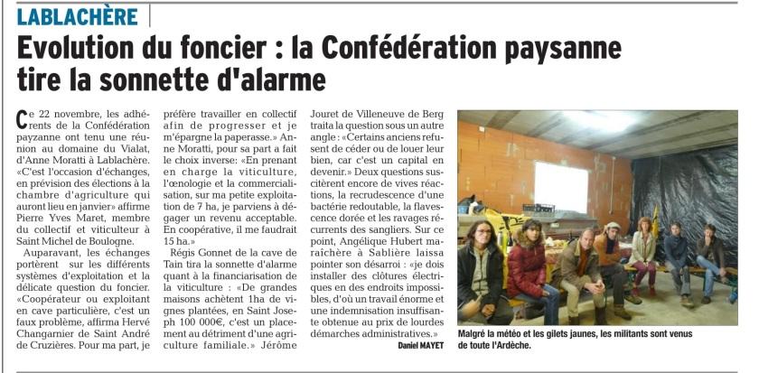 Article FO Lablachere - DL du 24 11 18 '.jpg