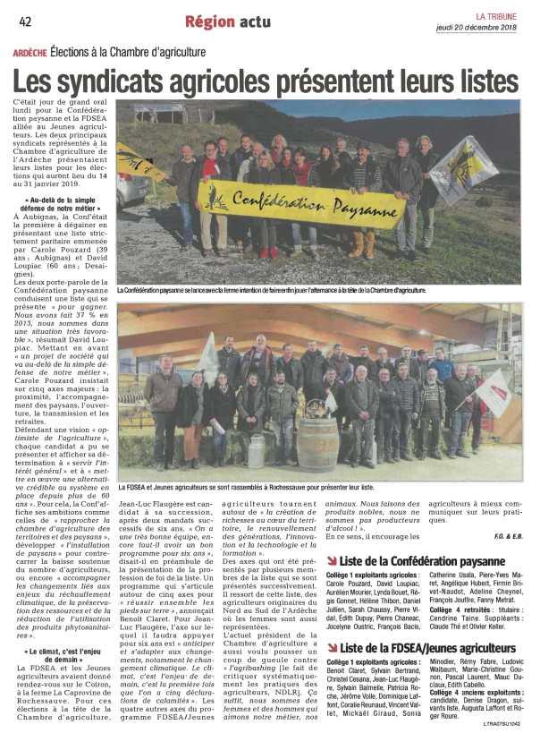 Article Présentation liste ECA - Tribune 20 12 18-1.jpg