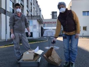 Livraison Privas - Action Conf solidaire - 3 Avril