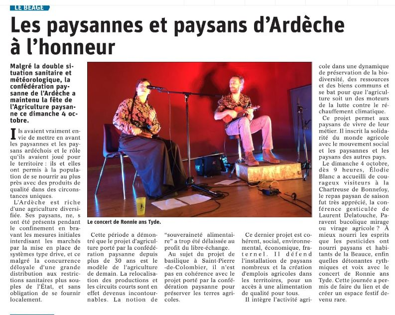 Article DL Fête 2020 Conf'07 Le Béage