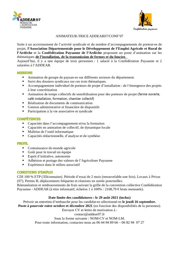 ADDEAR07-ConfPaysanne07-offre d-emploi-2021_page-0001